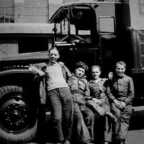 Onderhoudsmechaniekers circa 1930